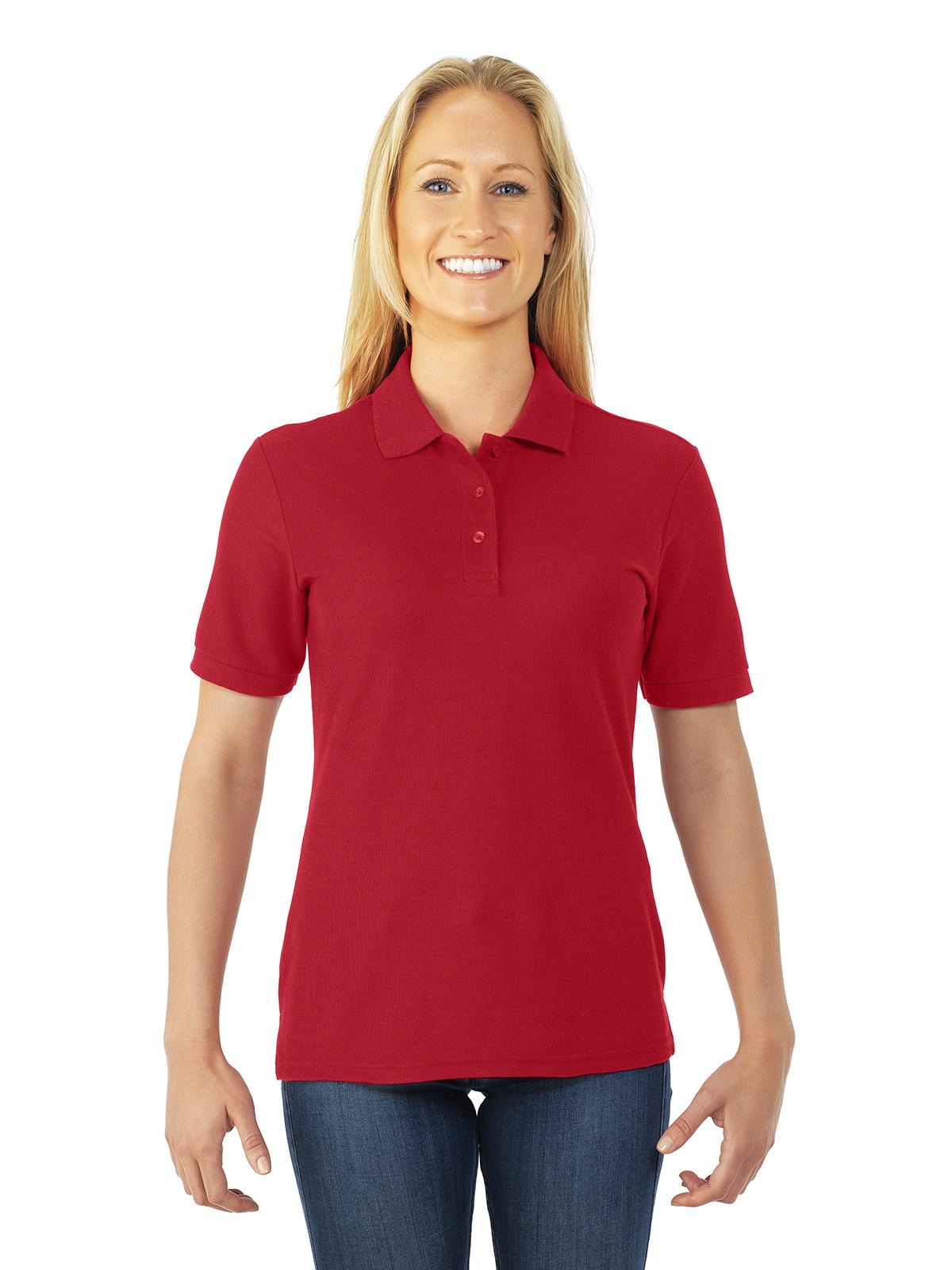JERZEES Easy Care Ladies  Sport Shirt - Charitees - Custom Apparel + ... e7cd0b8023beb